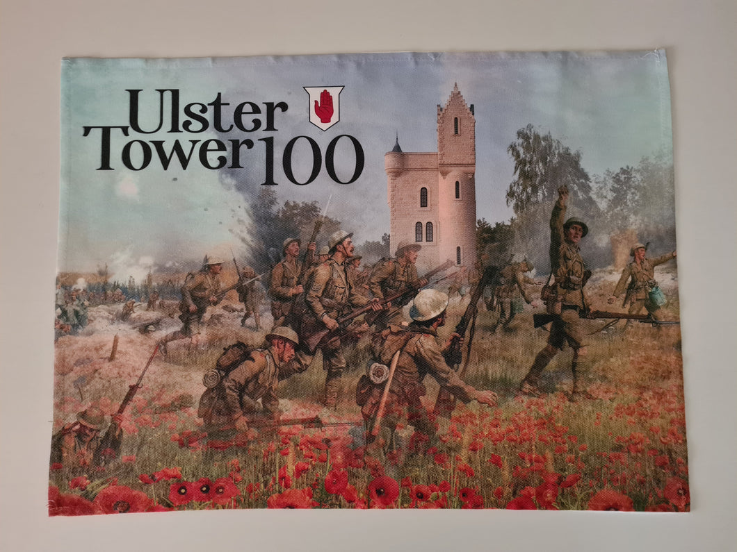 Ulster Tower 100 Anniversary Tea Towel