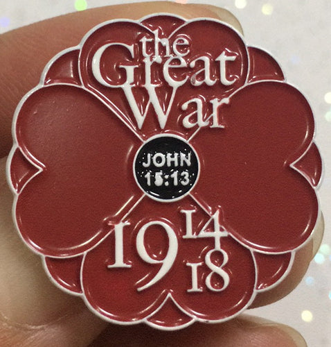 Empire Poppy 1914-1918 Pin Badge
