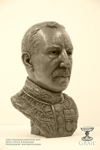 Limited Edition Lord Craigavon Bust by Helen Runciman