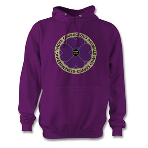 Purple Empire Poppy Hoodie