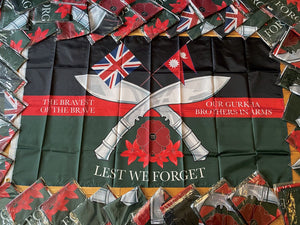 Gurkha Brothers In Arms Flag