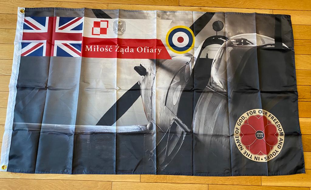 British/Polish Royal Air Force Flag