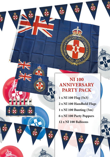 Northern Ireland 100th Anniversary Party Pack