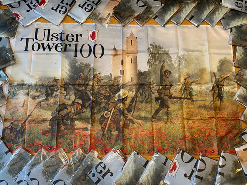 Ulster Tower 100th Anniversary Commemorative Flag