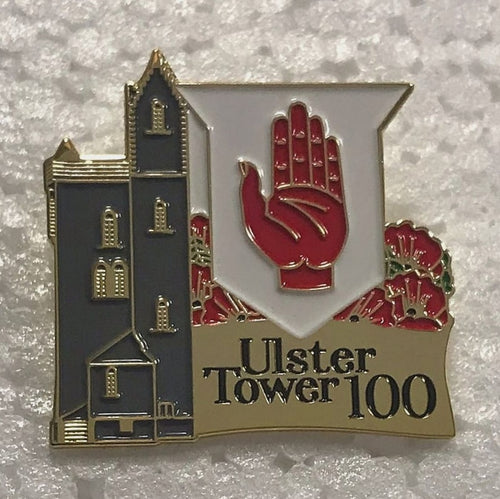 Ulster Tower 100th Anniversary Commemorative Badge
