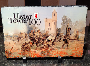 Ulster Tower 100th Anniversary Commemorative Plaque