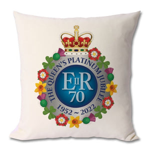 The Queen's Platinum Jubilee Commemorative Cushion