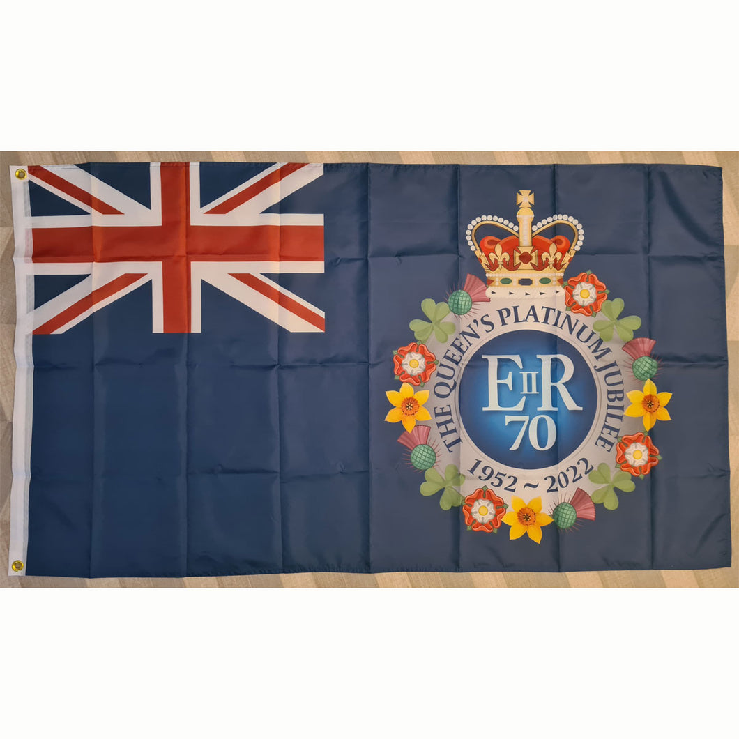 The Queen's Platinum Jubilee Commemorative Flag
