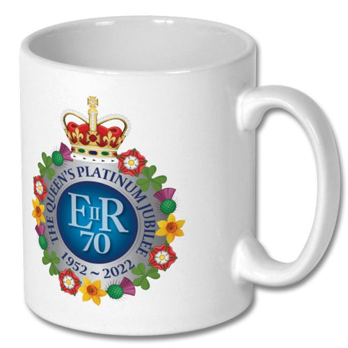 The Queen's Platinum Jubilee Commemorative Mug