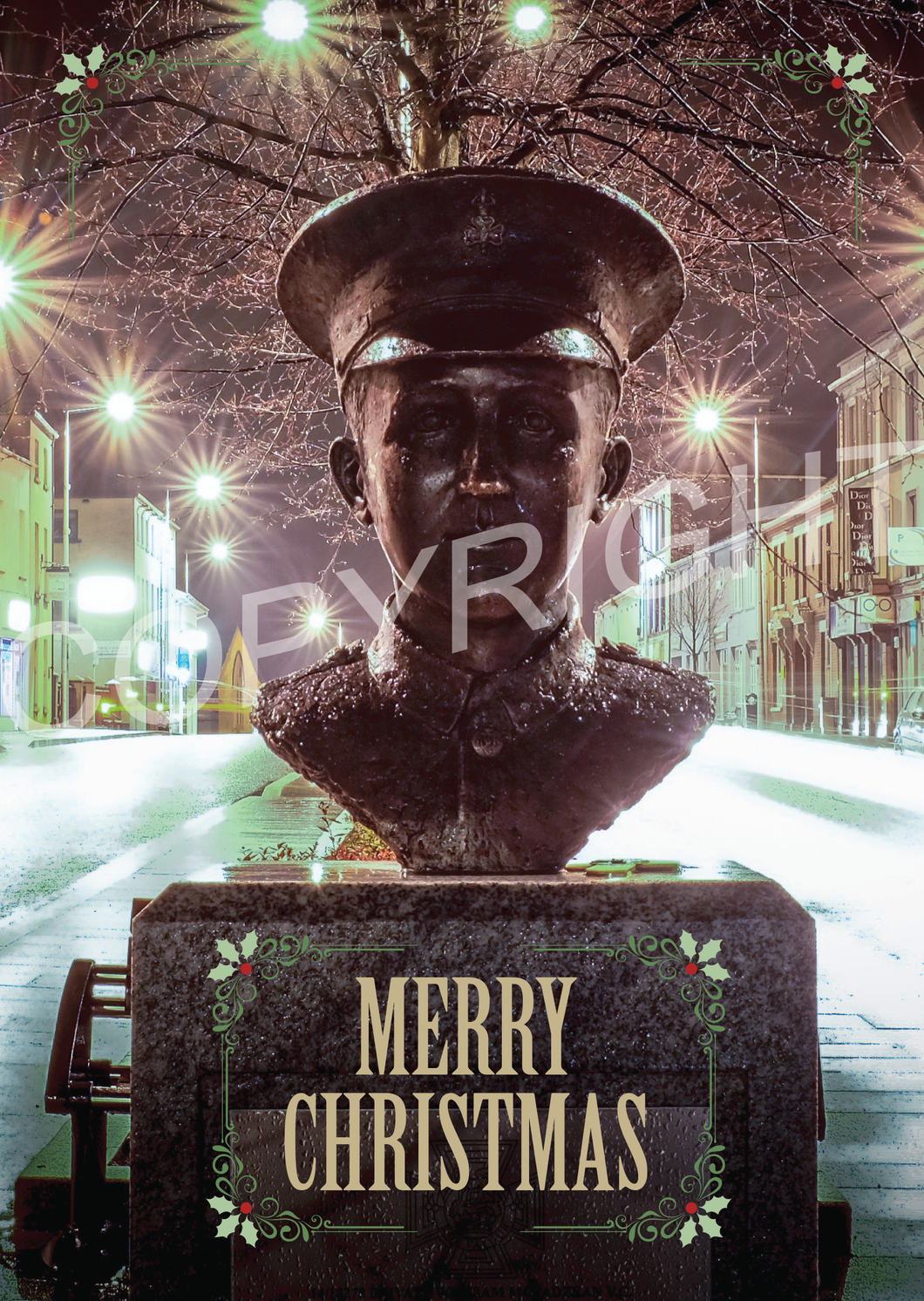 William McFadzean VC Christmas Card