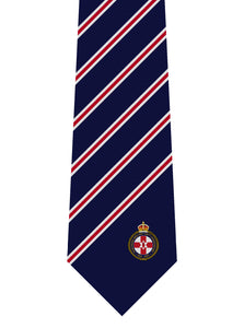 Northern Ireland 100th Anniversary Navy Silk Tie