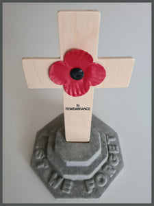 Poppy Cross Stand