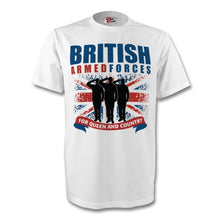 Load image into Gallery viewer, British Armed Forces T Shirt