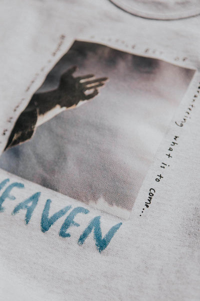 heaven sweatshirt - heather gray