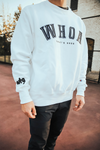 whoa that's good sweatshirt - white