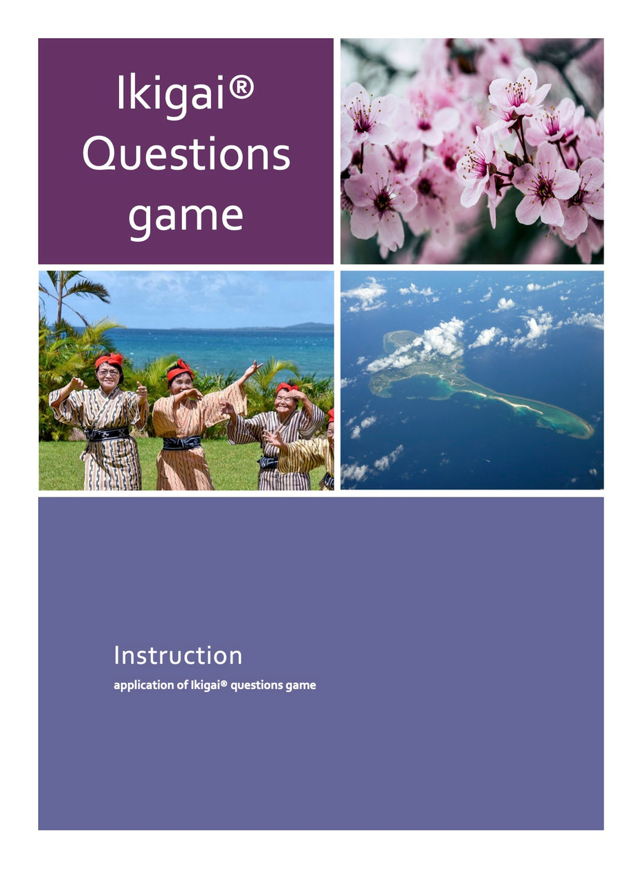 2021 Ikigai® question game (offline and online English edition)