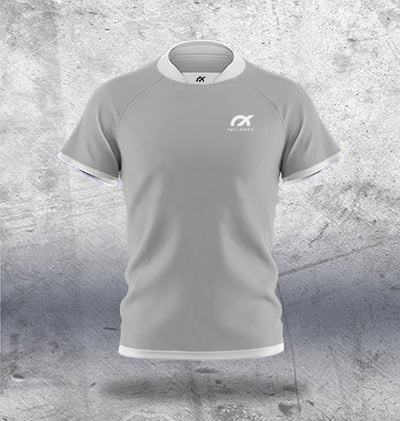 Light Grey Rugby Jersey
