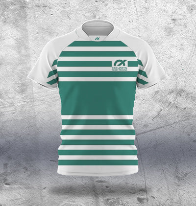 Kids Dark Green Rugby Training Jersey