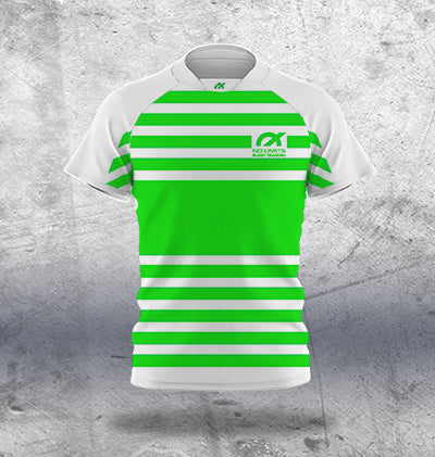 Kids Lime Rugby Training Jersey