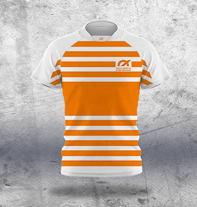 Kids Orange Rugby Training Jersey
