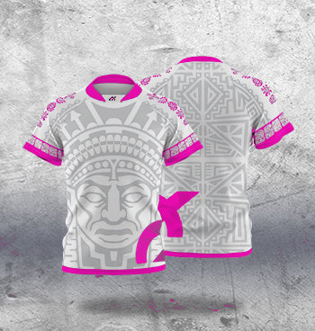 Rugby Jersey - Maya Pink