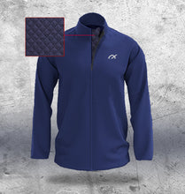 Load image into Gallery viewer, Mens Navy Padded Jacket