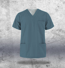 Load image into Gallery viewer, Teal Scrub Top Mens