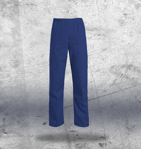 Mens Navy Scrub Bottoms