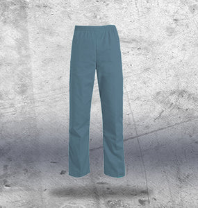 Mens Teal Scrub Bottoms
