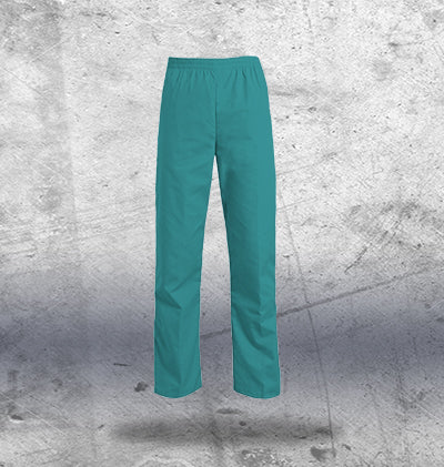 Mens Turquoise Scrub Bottoms