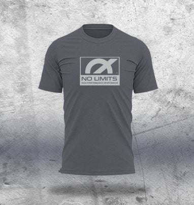 Charcoal Melange T-Shirt - Design 1