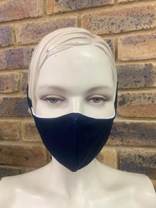Navy Unbranded - 3 Ply Face Mask