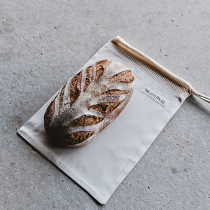 Reusable bread bag.