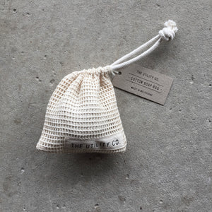 Cotton soap bag