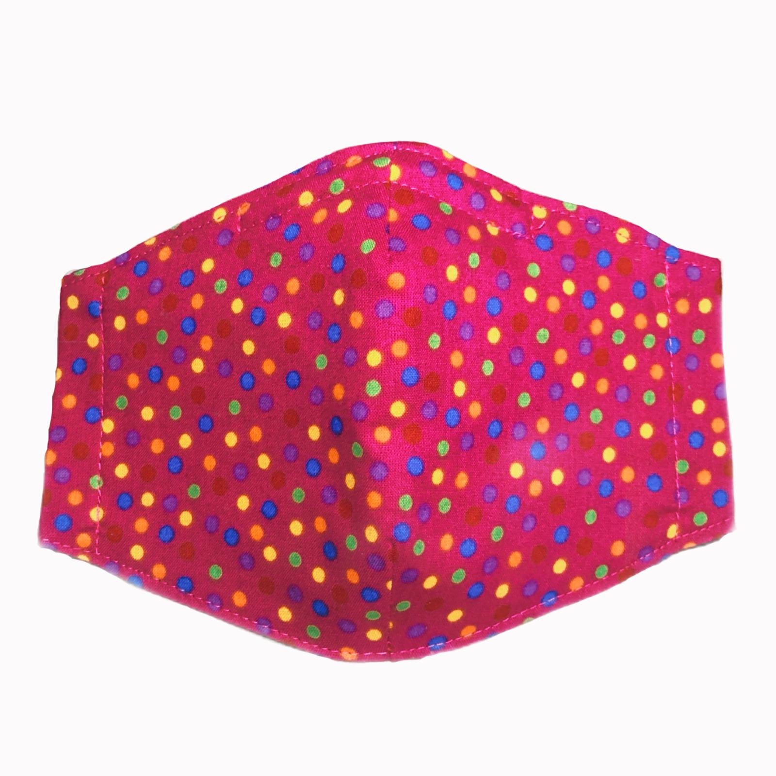 Colorful Dots - Comprar mascarillas reutilizables de tela