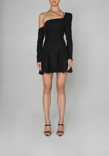 Sedgwick Dress in Noir