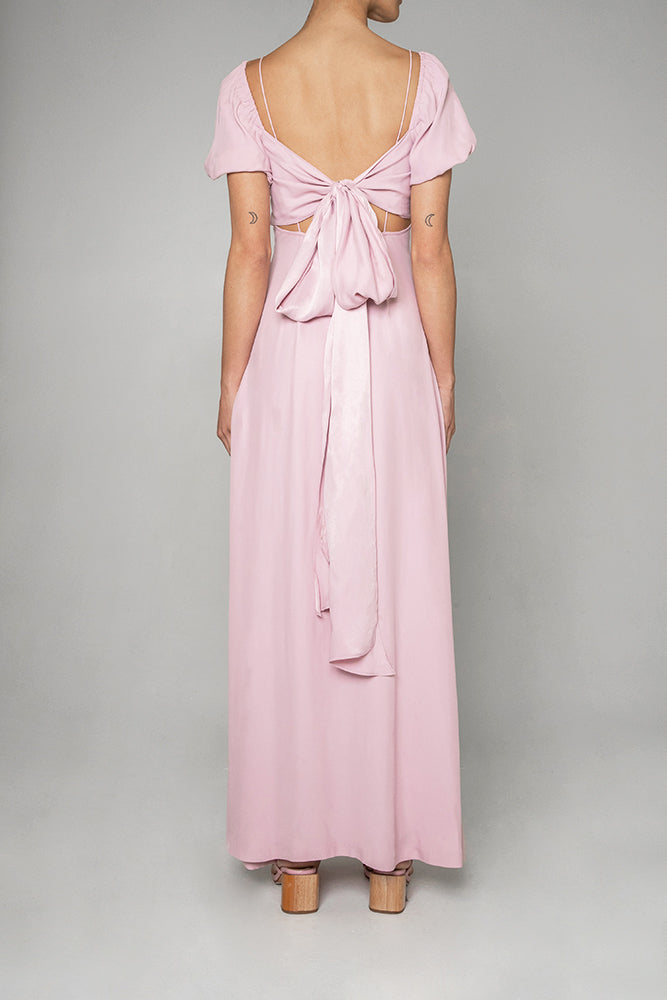 Ava Maxi Dress in Dusty Pink