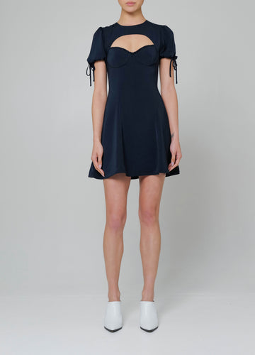 Palermo Dress in Midnight Blue