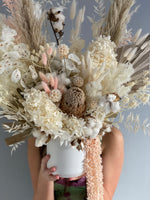 Load image into Gallery viewer, VANILLA BLUSH Preserved Arrangement