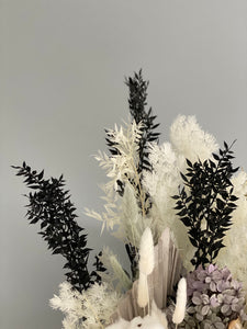 GREY MOSS Preserved Arrangement
