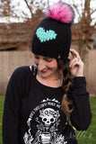 NickiChicki Beanies! Handmade in Minnesota - Custom for us in RockerBye Colors! Retail Swag