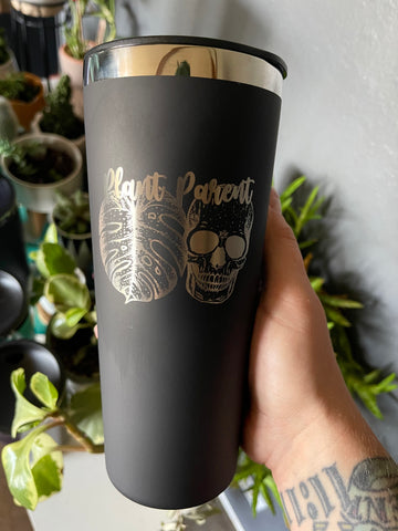 22oz steel insulated tumbler - Engraved - Retail Restock