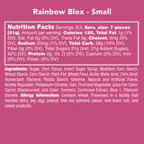 Rainbow Blox - Candy Club Rainbow Tangy Sweet with cream filling - Retail Swag