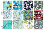 RETAIL - 12 squares per yard - double gauze scrap pack - 6 to choose from