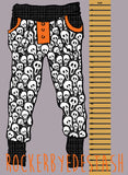 Bamboo Lycra Round CC Retail - Halloween NEW prints - Witchy, Scream, Skulls, Ghosts and more