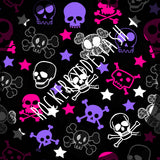 Cotton Woven - Round CC retail - Rerun Halloween Prints - Zombies, Bats, Skulls and more