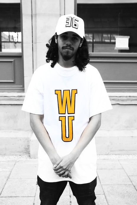 WU - White Cotton Tee - 3D graphics - The Drop