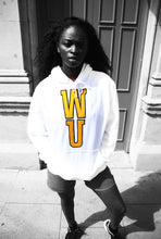 Load image into Gallery viewer, WU - White Cotton Hoodie - 3D graphics - The Drop