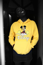 Load image into Gallery viewer, Dizzy - Yellow Cotton Hoodie - Printed graphics - The Drop