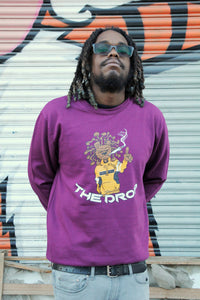 Lion Dread - Plum Sweatshirt - RareWear